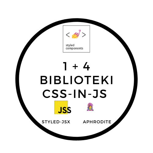 Sprawdź 1 + 4 Biblioteki CSS-in-JS dla Reacta do użycia w 2020